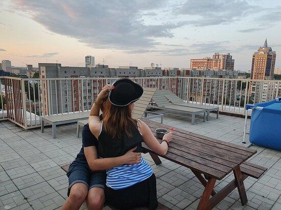 Терраса, доступная для апартаментов с террасой (не всех апартаментов!).