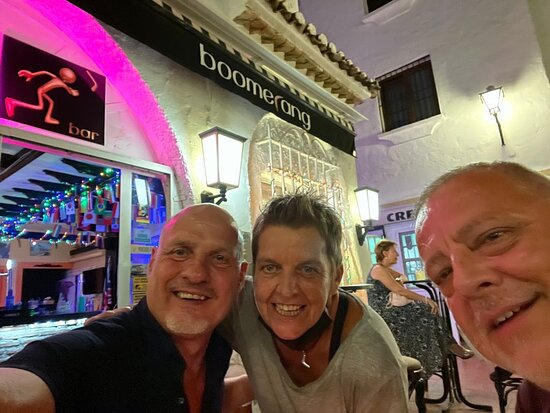 Торремолинос, Испания: It is a pleasure, to be in Boomerang Torremolinos. Many thanks to Gil and Team!