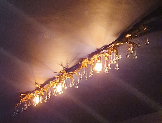 Stunning lighting creates a beautiful ambience