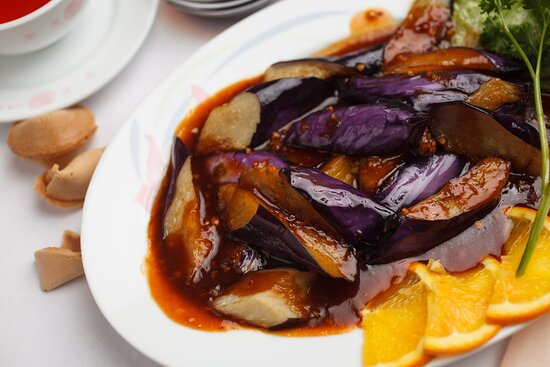 Eggplant With Spicy Garlic Sause