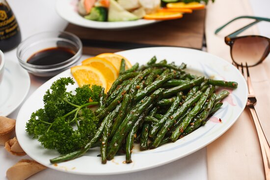 Green Bean With Chopped Dry Shrimp