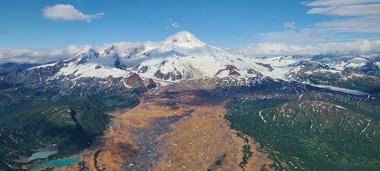 volcano scenic flight