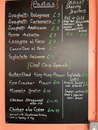 Chef Chris Specials Board 😉