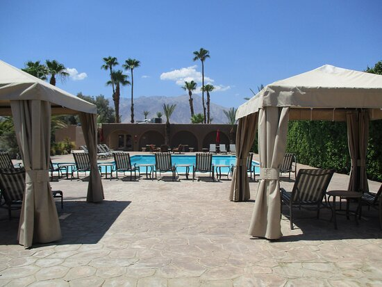 Spa pool area.
