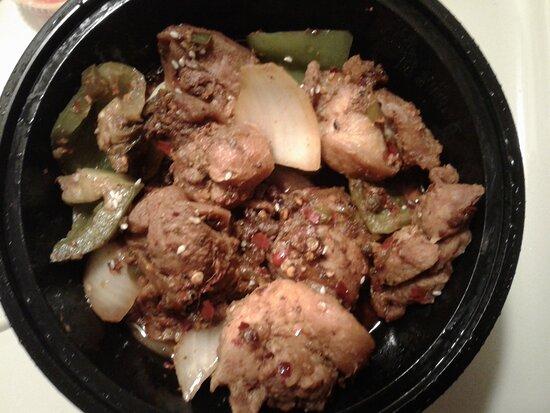Griddle chicken
