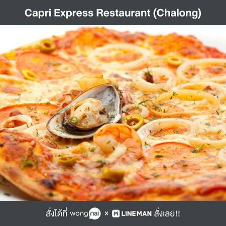 Pizza Seafood @Capri Express Chalong