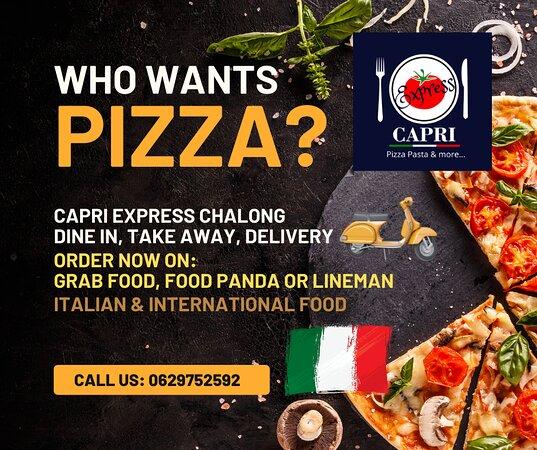 Capri Express Chalong Italian Restaurant & Coffee Shop Pizza