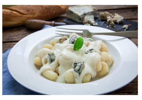 Capri Express Chalong Italian Restaurant & Coffee Shop Home-made Ghocchi with Four Cheeses Sauce