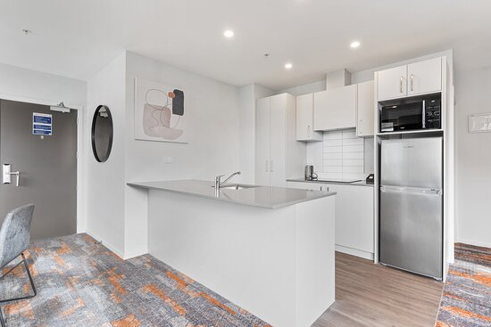 Two Bedroom, Two Bathroom Apartment:  Kitchen