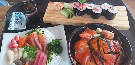 Aoi Sushi Bar Karon  Japanese Restaurant Sashimi, Maki  and Salmon Don