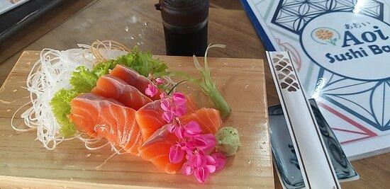 Aoi Sushi Bar Karon  Japanese Restaurant Salmon Sashimi