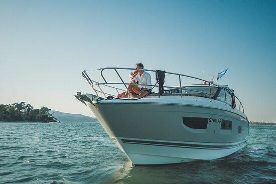 Private Half-Day Tróia Boat Tour with Arrábida and Comporta
