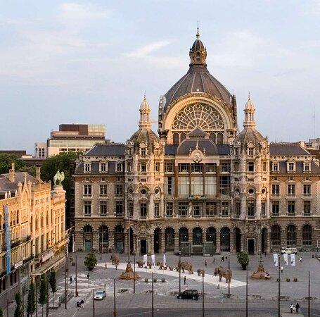 Central train station Antwerp