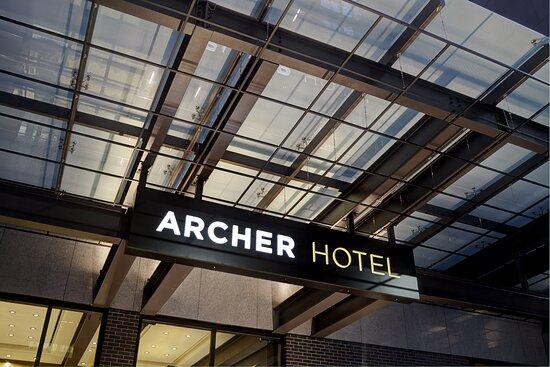 Archer Hotel New York Signage
