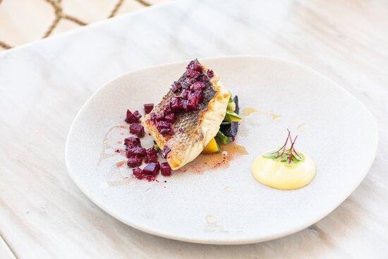 Barbouni Restaurant- Seabass Dish