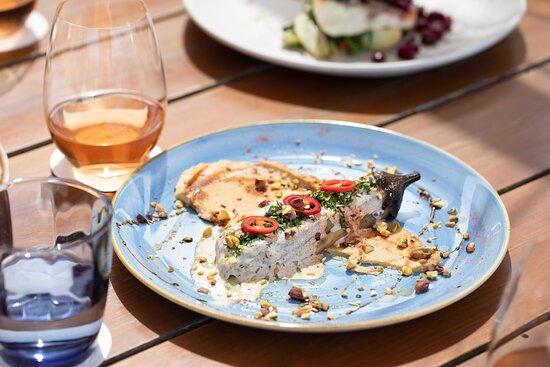 Barbouni Restaurant- Grilled Aubergine Dish