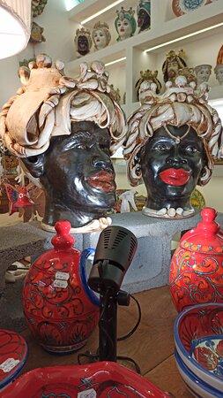 Bottega Sicula ceramiche siciliane Messina