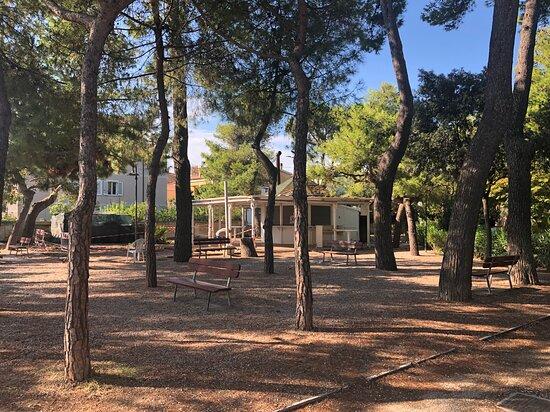 Roseto Degli Abruzzi, Italie : Laggiù i rumori di carpenteria ….