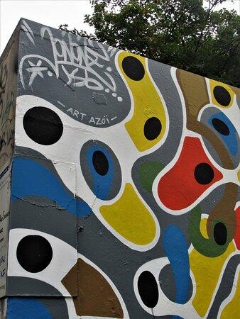 Signature du street artiste