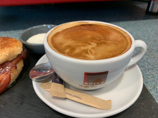 Caffe cosi in Paignton library great taste in barista coffee