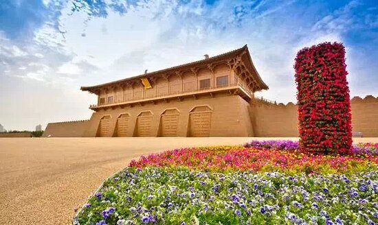 Daming Palace is one of the most famous tourist attractions in Xi'an.