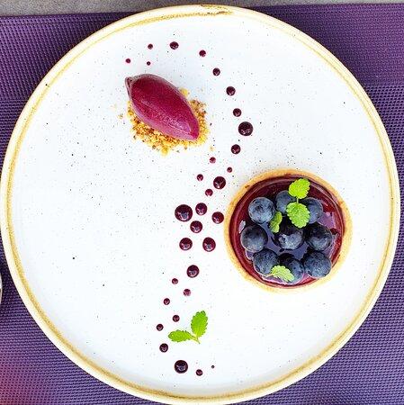 Tortino di fine estate all'uva ticinese