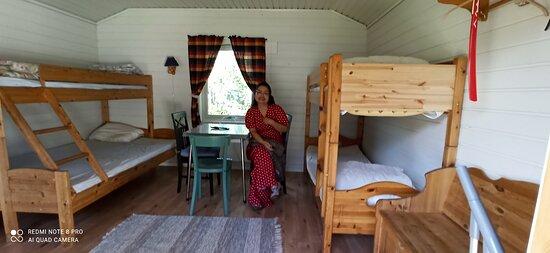 Oteren, Norwegen: Perfekt stuga på Hatteng grillbar och camping