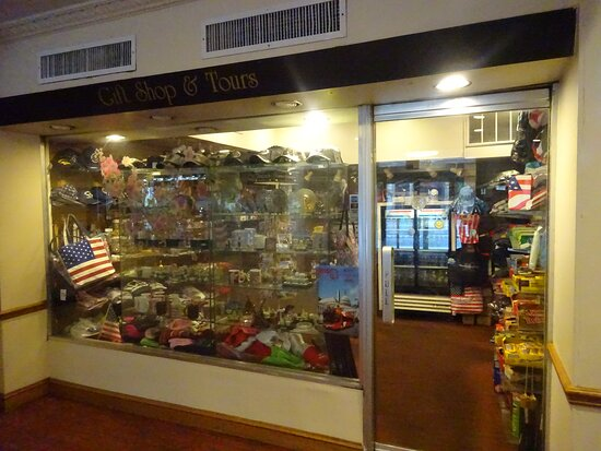 Small gift shop in lobby