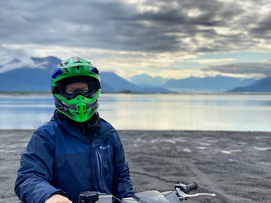 ATV Adventure in the Knik River Valley: Early in the day!
