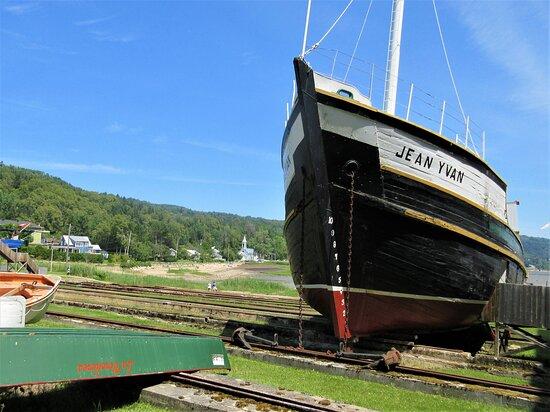 La goélette Jean-Yvan, construite en 1958