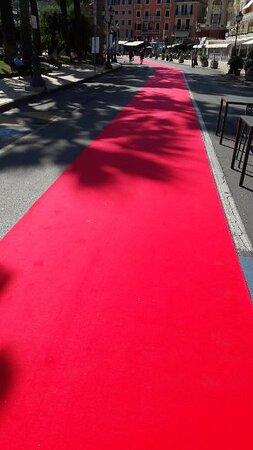 Rapallo, Ý: red carpet
