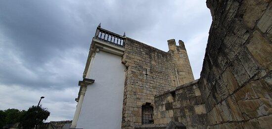 The city walls.