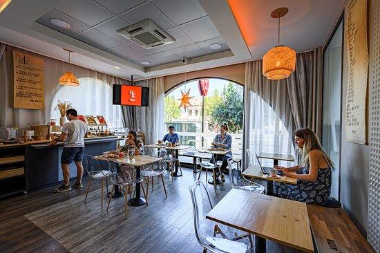 Foto de Hôtel Gascogne, Toulouse: Petit-déjeuner - Tripadvisor