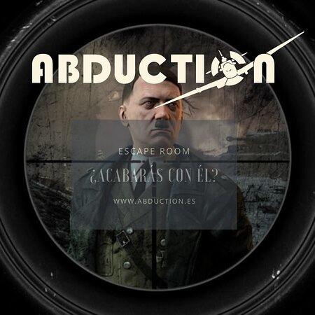 Escape Room en Valencia, tendrás 60 minutos para acabar con el mismísimo Adolf H. ¿Te atreverás a acabar esta misión? Reserva en www.abduction.es