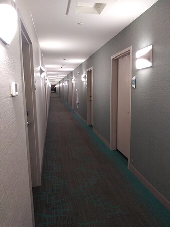 The Interior Corridor to Guest Rooms.