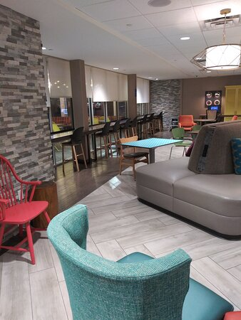 The Lobby Seating, and also Seating for the complimentary Breakfast area.