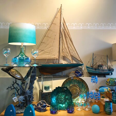 The Admiralty, in business since 1993, offers wonderful decor, gifts, jewelry and art with a wonderful beach vibe.