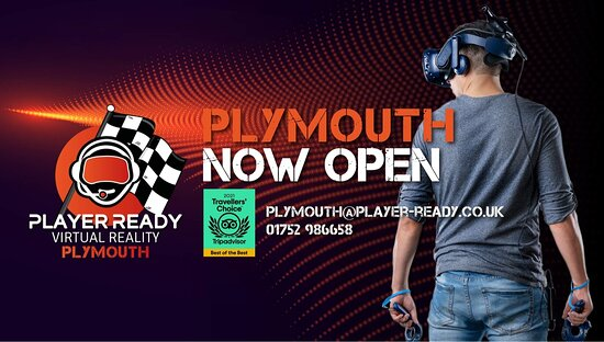 Player Ready Virtual Reality Gaming,Escape Rooms & Racing Plymouth