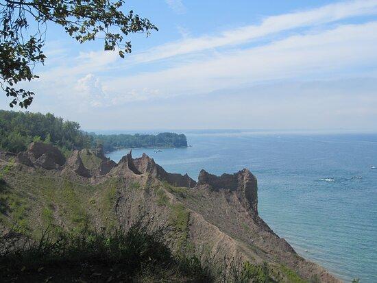 Bluffs on Lake Ontario.