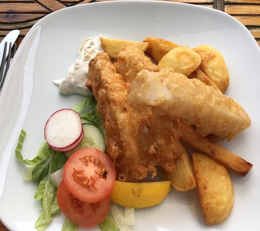 Very good food😄 fish and chips