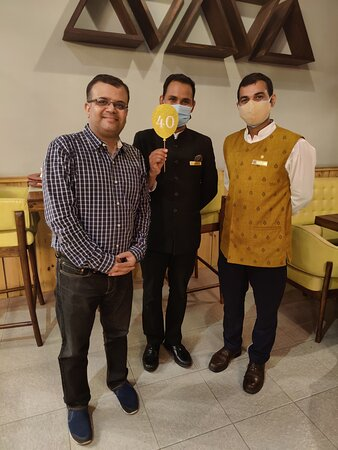 With Satyajeet and Rishabh