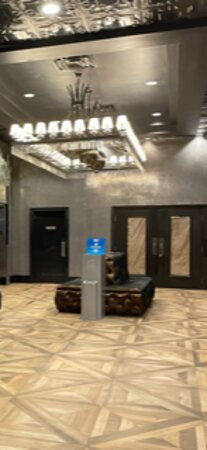 Elevator area to rooms.