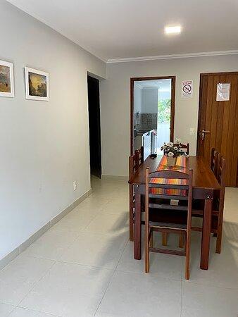 Apartamento maravilhoso, instalações boas e tranquilo