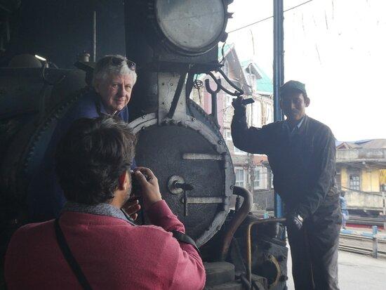 Darjeeling, Hindistan: Behind the scenes still from a documentary film