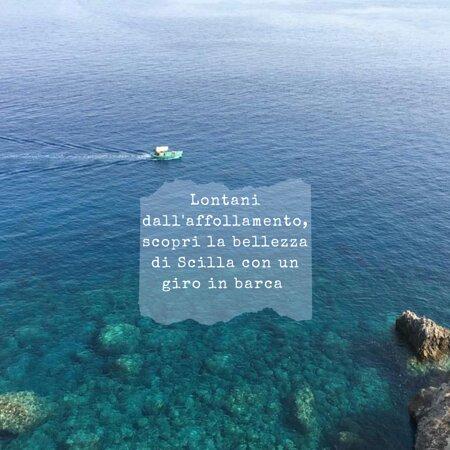 Giro in barca sulla costa Viola - Scilla (RC)