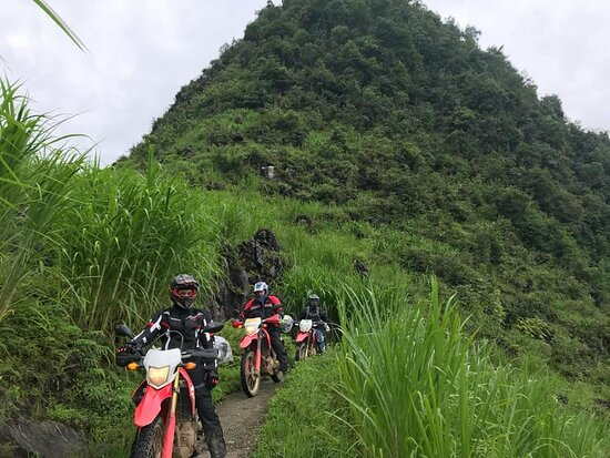 Motorbike ha giang