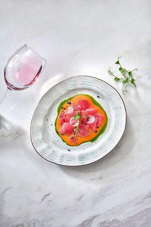 Тающие во рту кусочки свежей рыбы в лёгком имбирно-цитрусовом соусе – идеально к Пино Гриджио