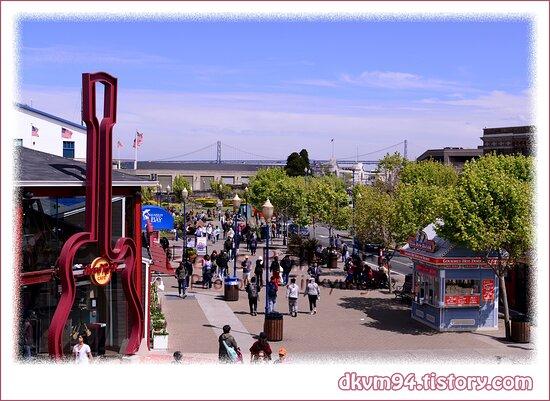 Pier 39 & Bay Bridge in San Francisco