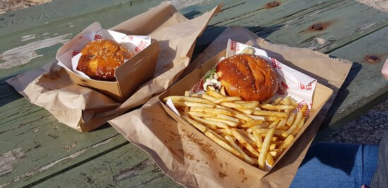 Lobster rolls, delicious.