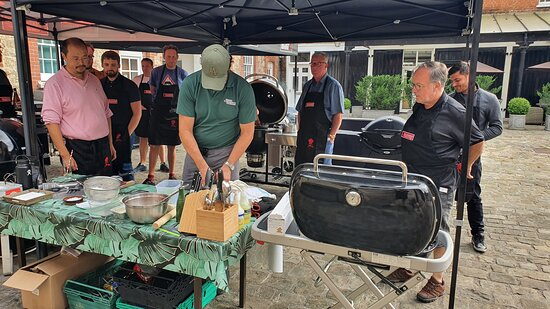 Webber essentials cooking course  is a must for bbqers. Great food great hosts